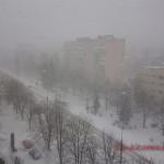Снігопади на Західній Україні