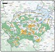 Карта Дрогобицького району