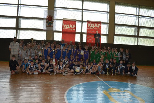 Дрогобич- турнір з баскетболу