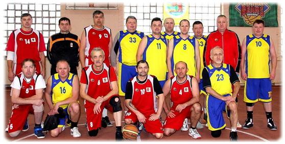баскетбол Дрогобича - ветерани