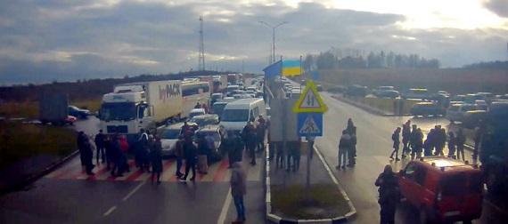 Блокування кордону