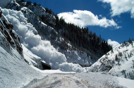 схід лавин