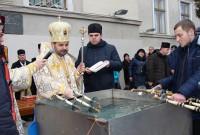 Водохреща у Дрогобичі