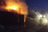 пожежа в гаражному кооперативі