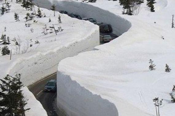 снігопади в Японії