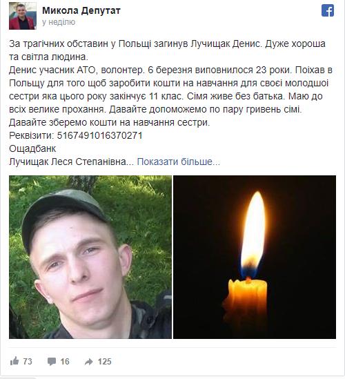 Денис Лучищак