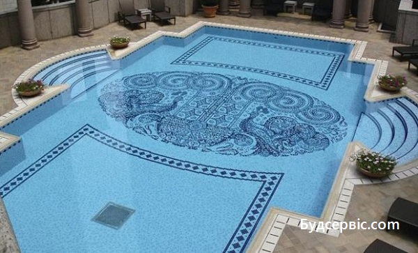 мозаїка для басейну