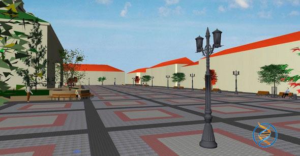 реконструкція площі