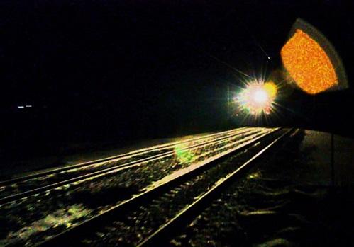 потяг збив пішохода