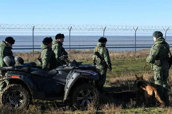 паркан з Кримом