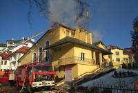Пожежа в Трускавці
