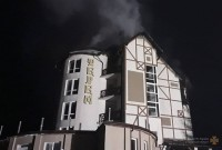 пожежа в готелі