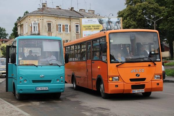 маршрути Дрогобича