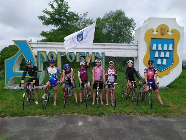 Велопробіг у Дрогобичі