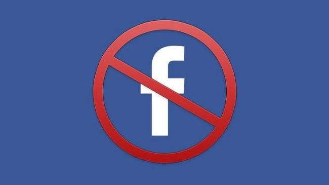бан від фейсбук