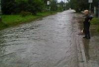 Дрогобич затопило