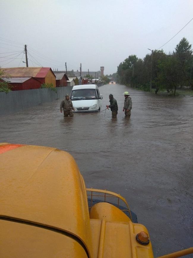 злива в Дрогобичі