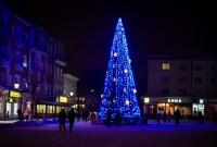 Міську ялинку на центральній площі Дрогобича відкриють у День Святого Миколая