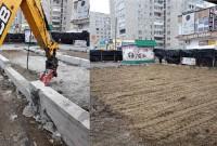 У Дрогобичі знесли недозволену будівлю