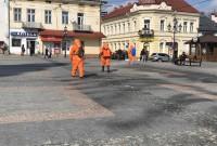 боротьба з вірусом у Дрогобичі