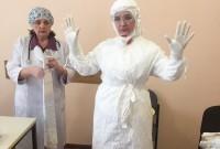 Стебницька лікарня отримала захисні костюми