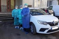 Розпочала роботу перша мобільна бригада Дрогобицької поліклініки