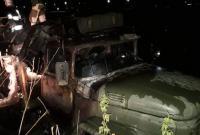 згоріла вантажівка