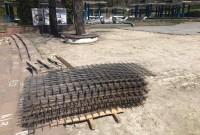 реконструкція біля бювету