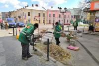 На вулиці Івана Мазепи облаштовують дорожні турнікети