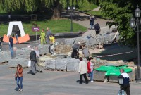 Де і як у Дрогобичі ремонтують вулиці