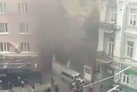 Біля офісу Медведчука в Києві пролунав сильний вибух