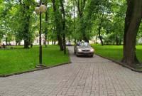 стоянка в парку