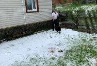 засипало снігу