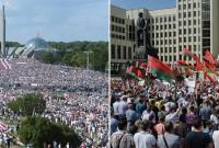 мітинги у Білорусі