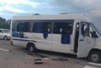 розстріл автобуса