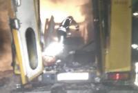 згорів Mercedes
