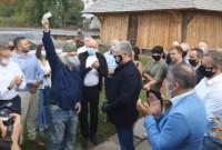 Лев Скоп отримав партійний квиток ЄС персонально від Порошенка