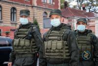 Нацгвардія приступила до охорони громадського порядку у Дрогобичі