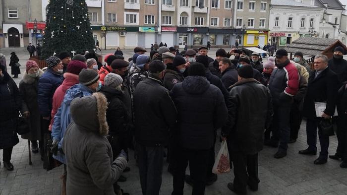 протести в Дрогобичі