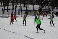 Волейбол на снігу