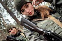 Військові красуні