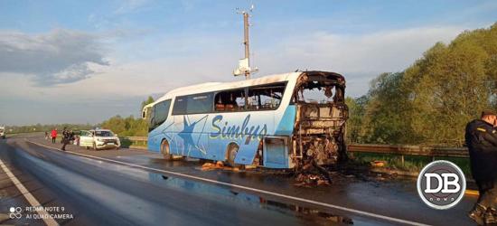 горів автобус